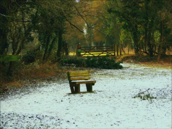 A dusting of snow. by niknakpaddywhack