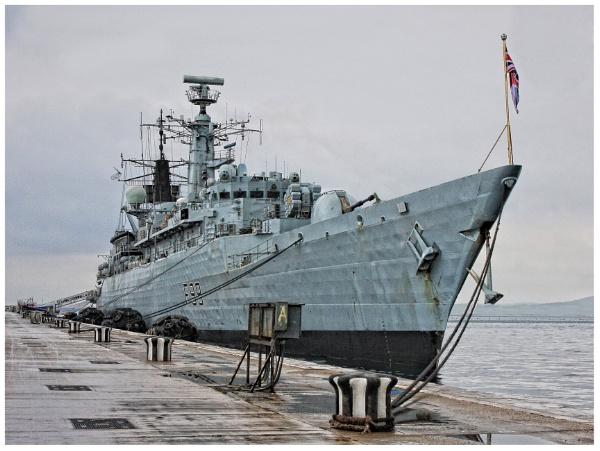 HMS Cornwall by Glynn