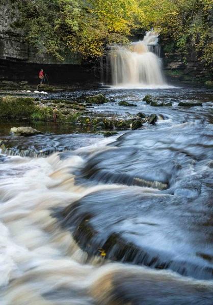 West Burton Falls by LenShepherd