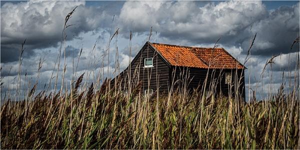 The Ferry Hut, Walberswick by Dixxipix