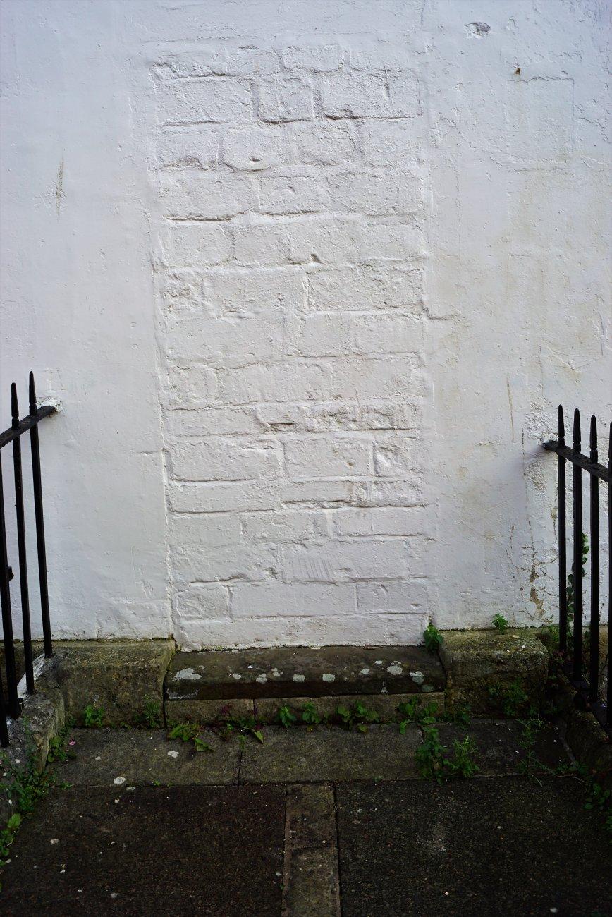 A 'Door Less' Door Step