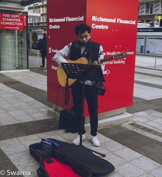 Guitarist IV... by Swarnadip
