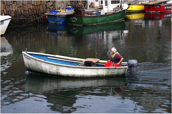Vigilant in Crail Harbour by johnriley1uk