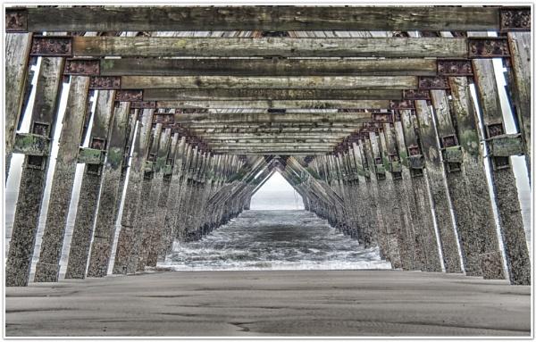 Under the Pier by DaveRyder