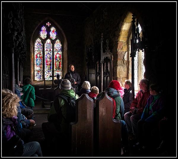 Farne Island church by BiffoClick