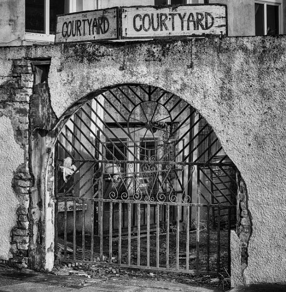 The courtyard by Backabit