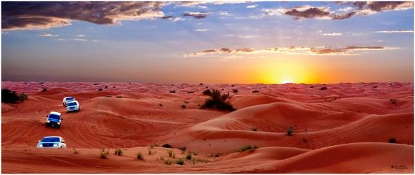 Dubai desert safari experience! by Jas2