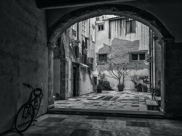 A Courtyard by Xandru