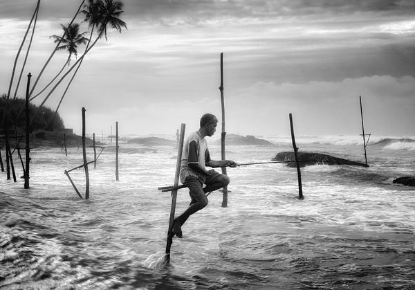 Stilt Fishing. by Buffalo_Tom