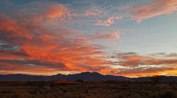 New Mexican Sunrise by billgoco
