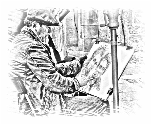 Street Artist - reworked (4) by PhilT2