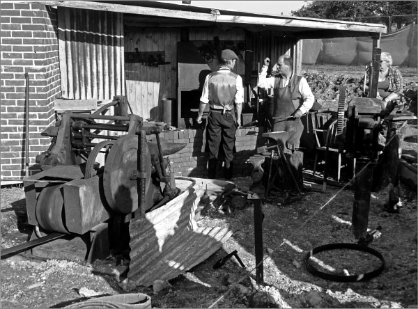 WWI Blacksmith by JuBarney