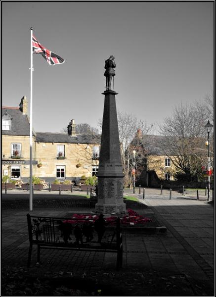 Cramlington War Memorial by Rossi208