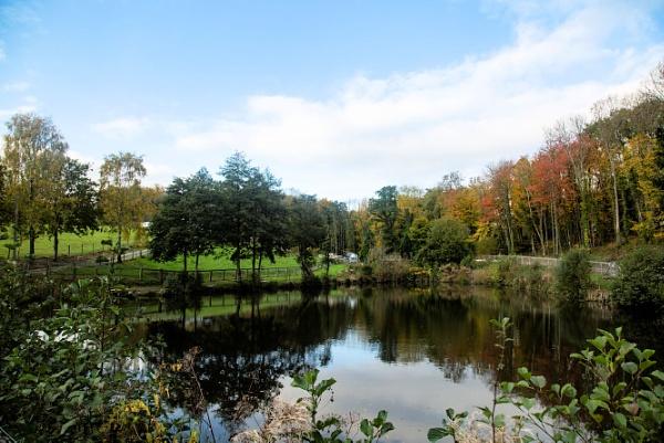 Fishing Lake reflections by cegidfa