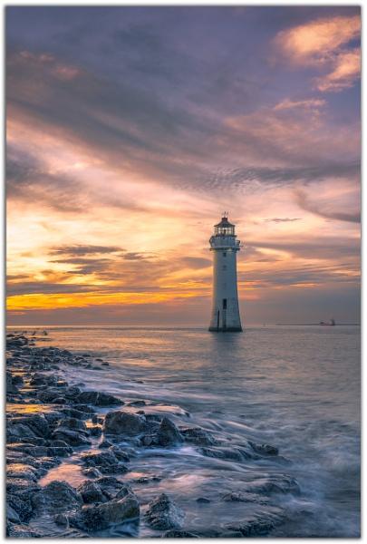 Perch Rock Lighthouse. by Satlight