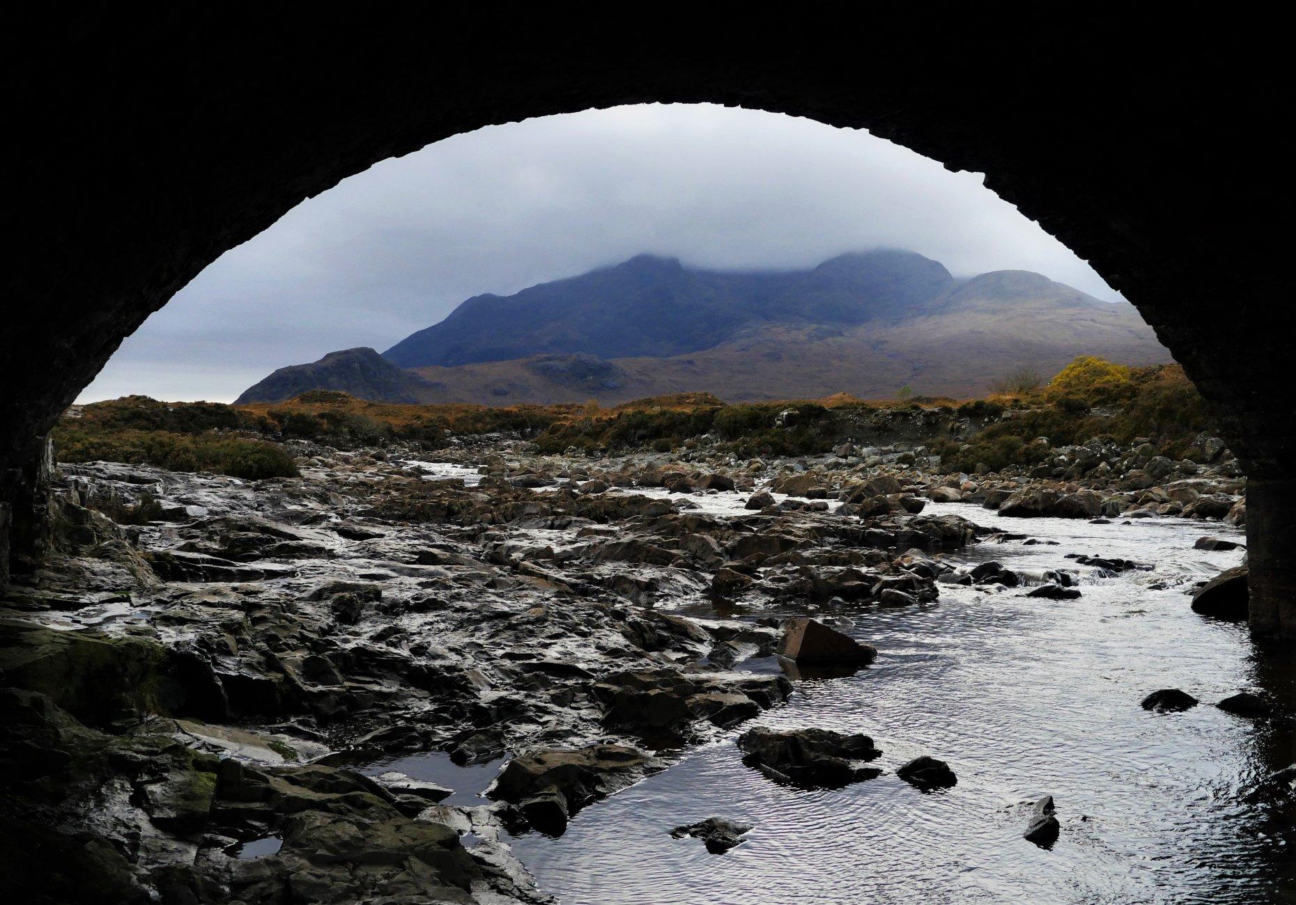 Under the Bridge to Skye