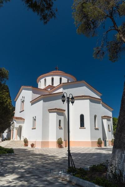 Panagia of Kremasti Church in Kremasti Rhodes by IainHamer