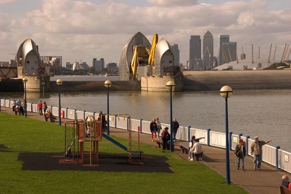 Thames Barrier by blrphotos