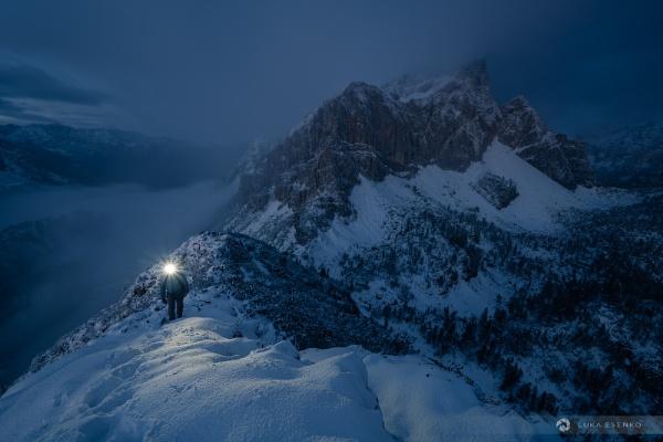 Night in the Alps by lukaesenko