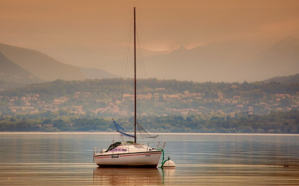 Tranquility on Lake Garda by sandwedge