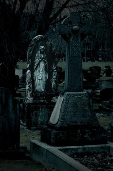 Churchyard. by mex