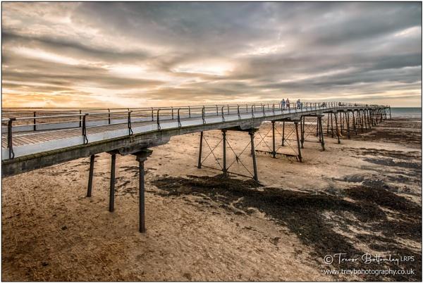 Saltburn Sunset by TrevBatWCC