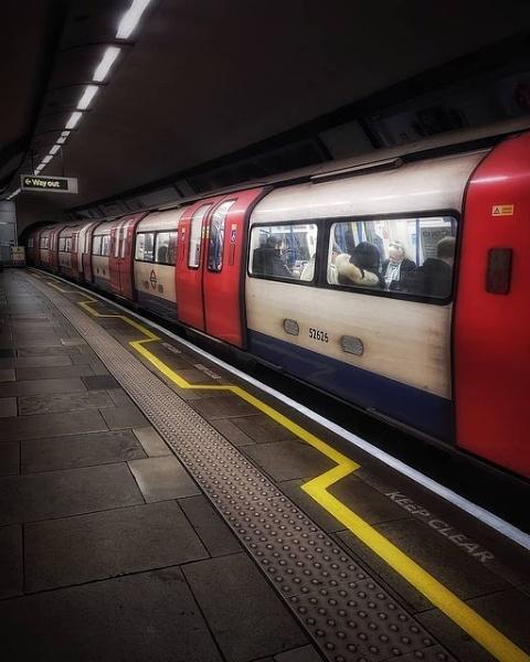 Clapham South Underground Station by StevenBest