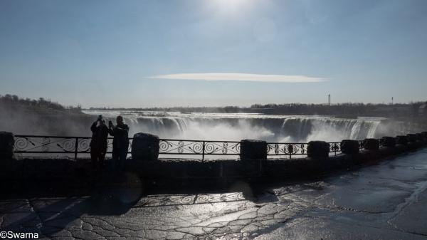 No Tourists in Niagara... by Swarnadip