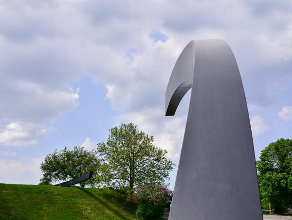Estonia Memorial in Tallin. by Jukka