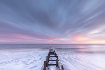 Sunrise groynes.....