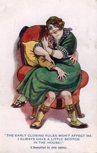 Postcard dated 1917