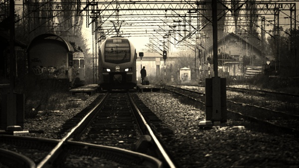 About the railway - VII by MileJanjic
