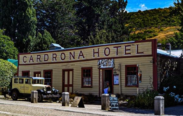 the Cardrona Hotel by Janetdinah