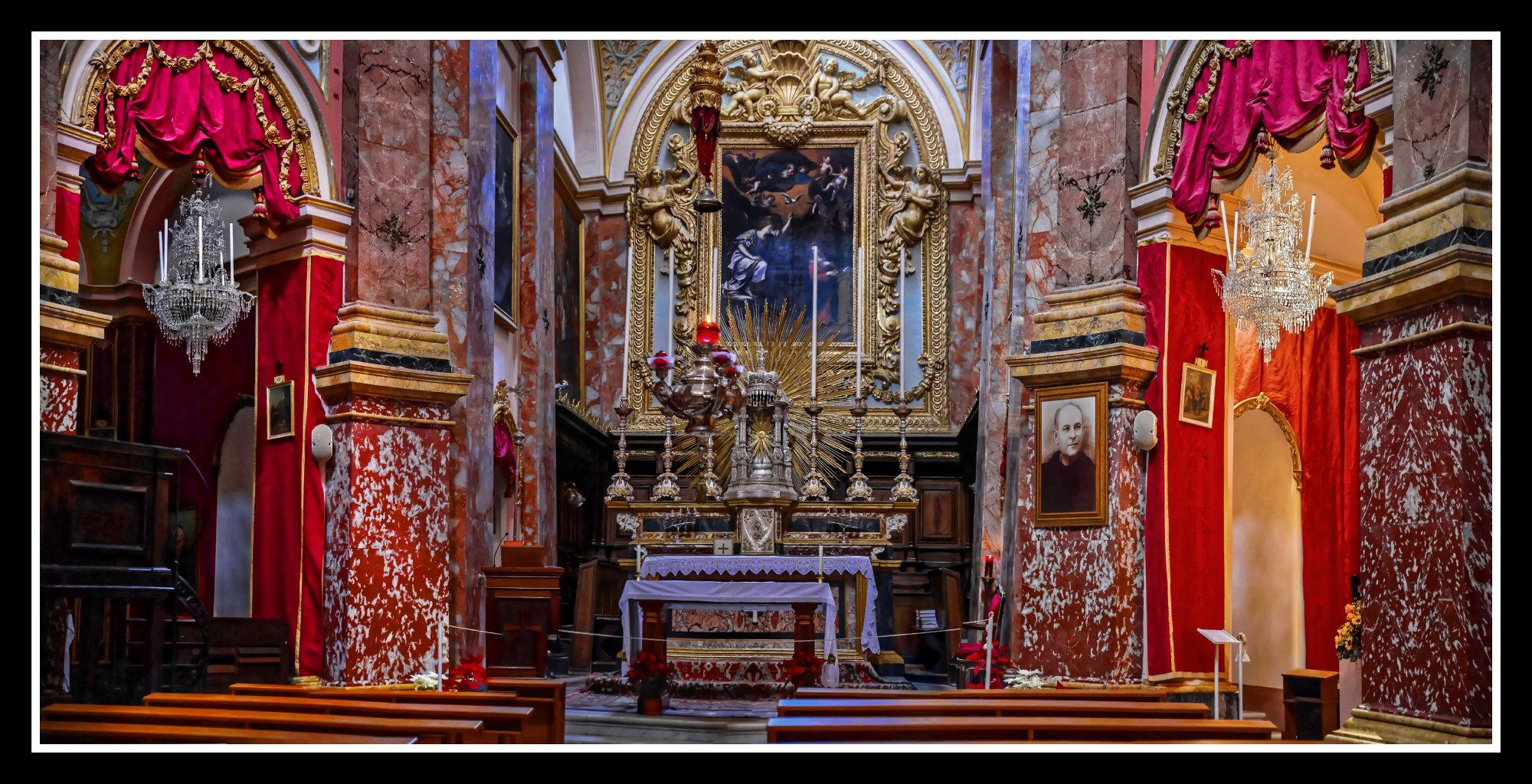 The Carmelite Church ---- MDINA