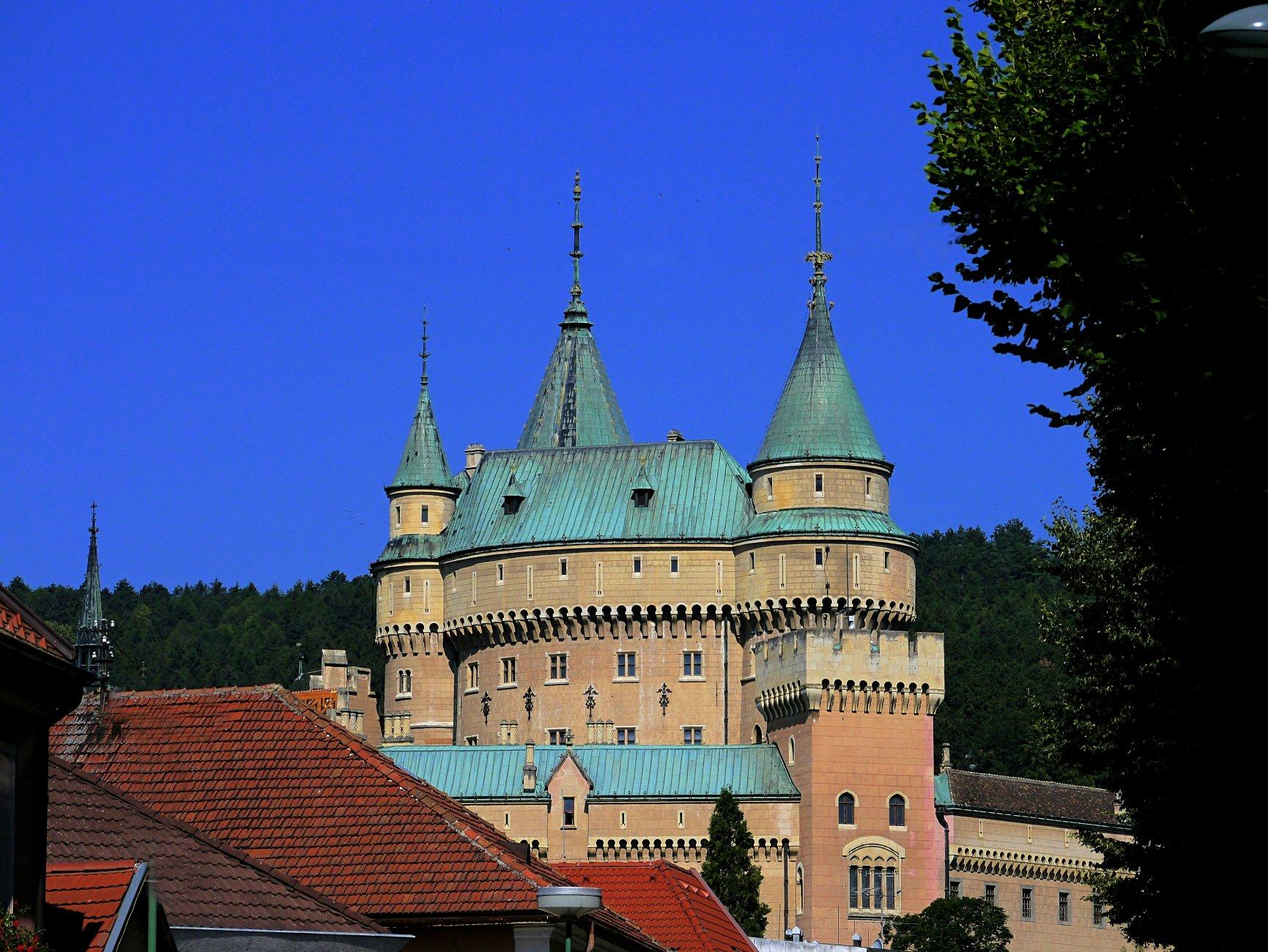 Castle Bojnice - Slovakia.