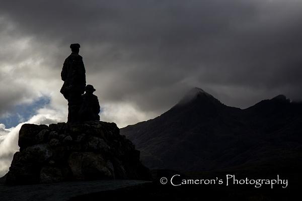 John MacKenzie and Norman Collie. Sligachan, Isle of Skye. by Cammy
