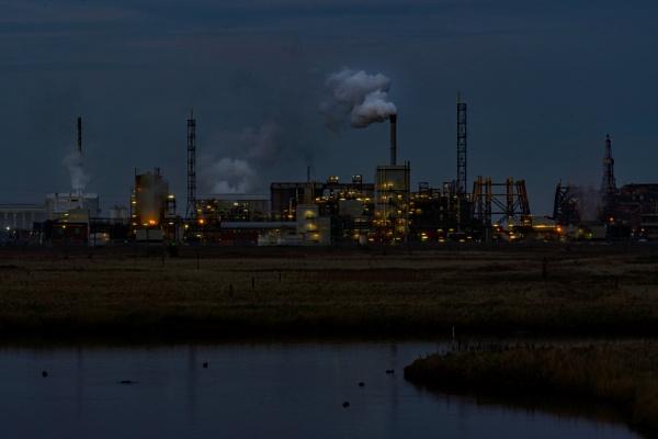 Dusk Factory by terra