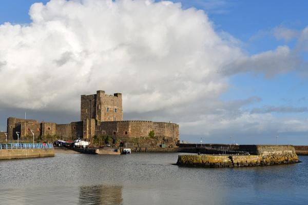 Carrickfergus castle by wisk