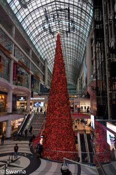 Christmas Tree - Eaton Centre, Toronto