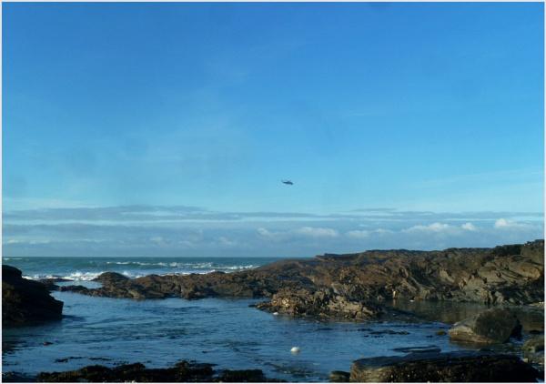 Calm at sea by JuBarney