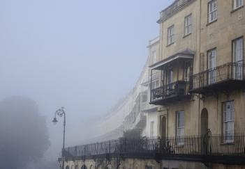 Misty morning in Clifton