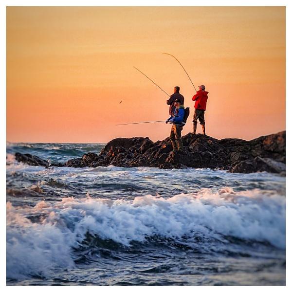 3 men g one fishing by happysnapper