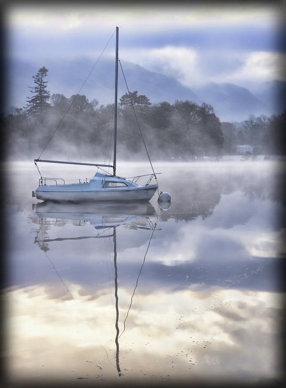 Morning mist on Ullswater