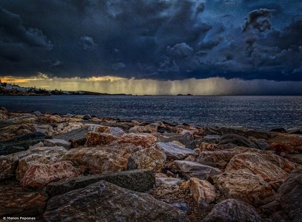 Sea Storm, Paros, Greece 20.07021 by mp0255