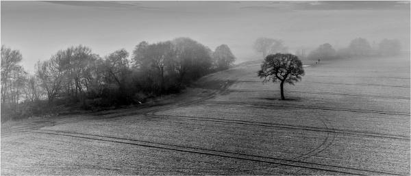The misty morning by Stevetheroofer