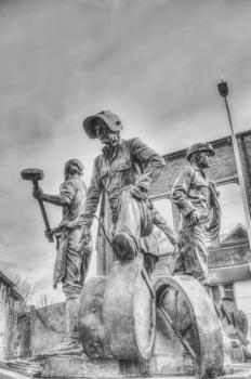 Shipyard Worker memorial