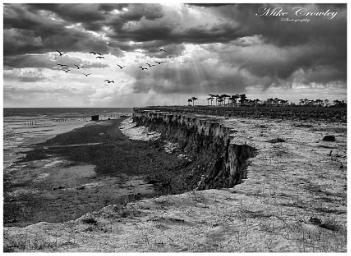 Cliff Erosion at Bawdsey, Suffolk