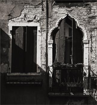 Venetian Window and Balcony