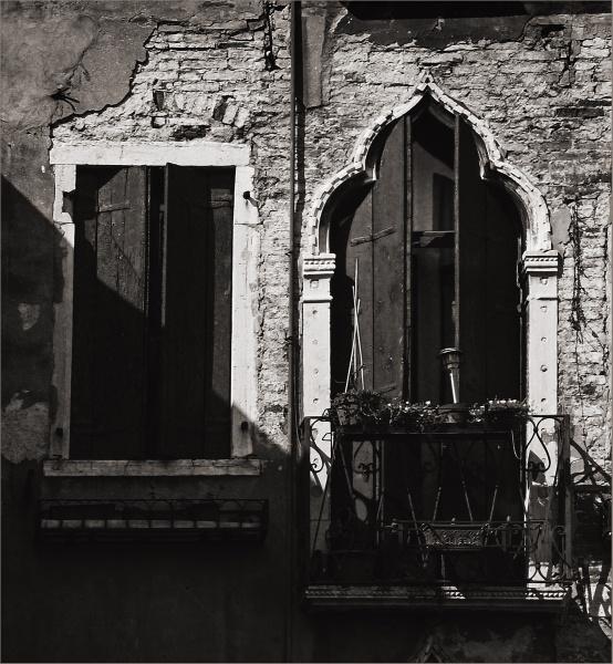 Venetian Window and Balcony by AlfieK