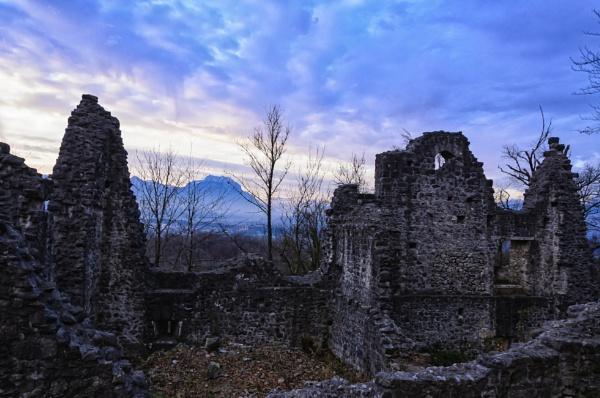 Castle ruin Neuburg Koblach by Harry2021